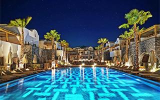 Новый роскошный отель на Санторини Radisson Blu Zaffron Resort